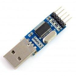 Převodník USB-RS232 PL2303 3,3 V / 5 V.
