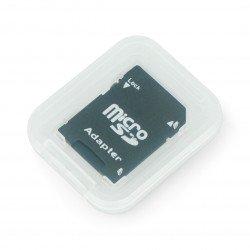Pouzdro na paměťovou kartu SD + adaptér