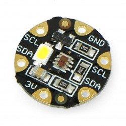 Barevný senzor Adafruit FLORA - TCS34725 s LED podsvícením