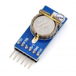 Hodiny reálného času - modul RTC DS1302 + baterie