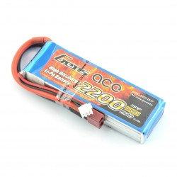 LiPol Gens Ace 2200mAh 25C 2S 7,4V balení