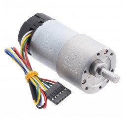 Převodový motor 37Dx73L 131: 1 12V 76RPM + kodér CPR 64