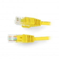 Patchcord Ethernet UTP 5e 3 m - zelený
