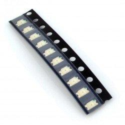 LED dioda smd 1206 modrá - 10 ks.