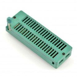Testovací stojan ZIF 40pin, rozteč 15,24 mm