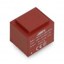 Zapouzdřený transformátor Myrra 2,8 W 9V / 230V ta70st