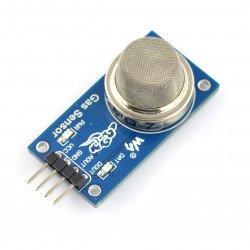 Senzor LPG, propanu a vodíku MQ-2 - modul Waveshare