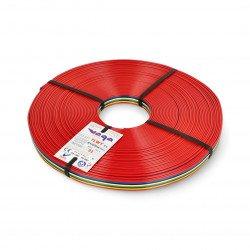 Plochý kabel TLWY - 8x0,75mm² / AWG 18 - vícebarevný - 25m