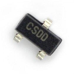 Stabilizátor LDO 3,3 V MCP1700T - SMD SOT-23