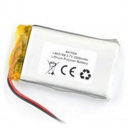 Akyga 2200mAh 1S 3,7V Li-Pol baterie