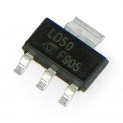 Stabilizátor LDO 5V LM1117MP - SMD SOT223