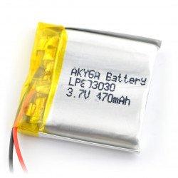 Akyga 470mAh 1S 3,7V Li-Pol baterie