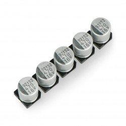 470uF / 16V SMD elektrolytický kondenzátor