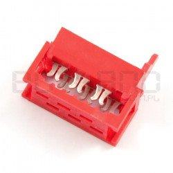Konektor Micro-Match pro 6kolíkovou pásku