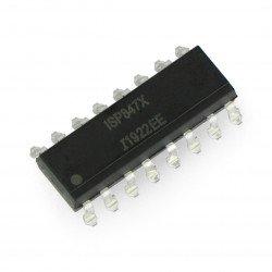 Vícenásobný optočlen ISP847 - SMD