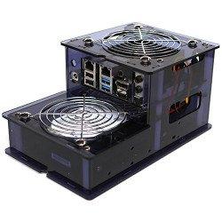 Pouzdro pro Odroid H2 s možností instalace pevného disku