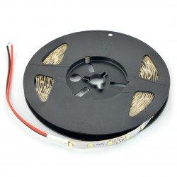 LED pásek SMD3528 IP65 4,8W, 60 LED / m, 8mm, teplá barva - 5m