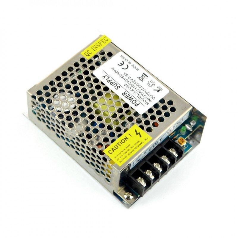 Modulární napájecí zdroj LXG63 pro LED pásky a pásky 12V / 3,3A / 40W