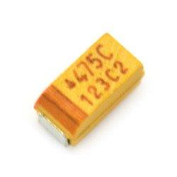 Tantalový kondenzátor 4,7uF / 16V SMD - A.