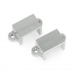 Držáky pro mikromotory Pololu - hliníkové - 2 ks.