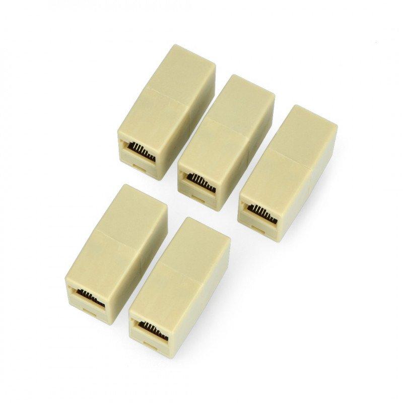 Konektor pro připojení síťových kabelů RJ45 / 8P8C