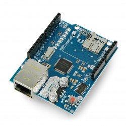 Ethernetový štít W5100 pro Arduino
