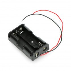Koš na 2 baterie AA (R6)