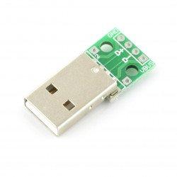 Modul se zásuvkou USB typu A.
