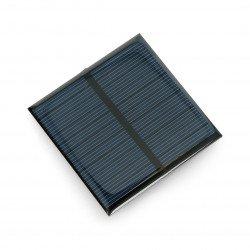 Solární článek 0,6W / 5,5V 65x65x3mm