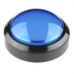 Velké tlačítko 10 cm - modré - SparkFun COM-11274