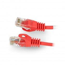 Lanberg Ethernet Patchcord UTP 5e 50m - červený