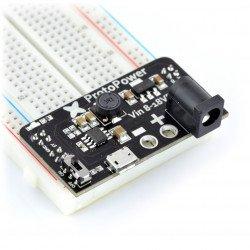 Napájecí modul pro kontaktní desky ProtoPower - 3,3 V 5 V / 1,5 A.