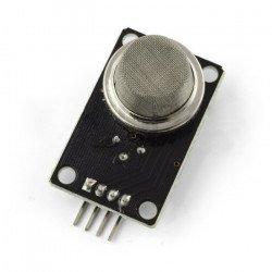 Detektor kouře a hořlavých plynů MQ-2 - polovodič - černý modul