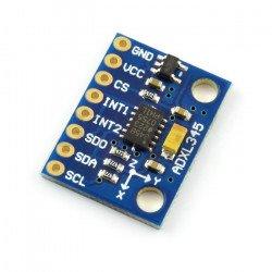 ADXL345 3osý digitální akcelerometr I2C / SPI - modul