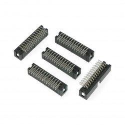 IDC zástrčka úhlová 26 pinů - 5 ks