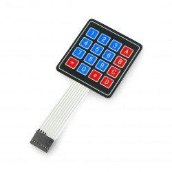Samolepicí membránová klávesnice 4x4 - 16 kláves