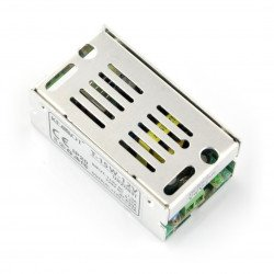 Montážní zdroj T-15W-12V pro LED pásky a pásky 12V / 1,25A / 15W