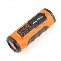 Přenosný reproduktor Bluetooth Blow BT300 na kolo + svítilna