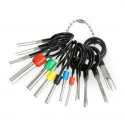 Odstraňovače klíčů na čepy - 18 prvků