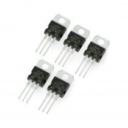 Stabilizátor LDO 3,3 V LD1117V33 - THT TO220 - 5 ks.