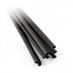 Sada smršťovacích bužírek 3,2 / 1,6 - 1,2 m, černá - 50 kusů