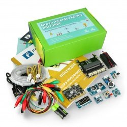Micro: bit Grove Inventor Kit - kit pro děti (moduly + micro: bit + FORBOT kurz + kniha)