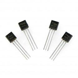 Tranzistor N-MOSFET BS170 - THT - 4 ks.