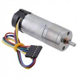 Motor s převodovkou 25Dx48L HP 4,4: 1 6V 2200RPM + kodér CPR 48
