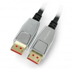 Kabel DisplayPort samec 20pin v1.4 8K Lanberg černý - 1m