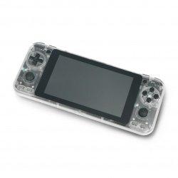 Odroid Go Super - przenośna konsola do gier - Clear White