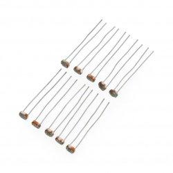 Fotorezistor 5-10kΩ GL5616 - 10ks.