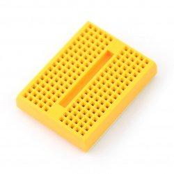 Nepájivá deska - 170 otvorů - žlutá
