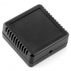 Plastové větrané pouzdro Kradex Z123 - 76x76x30 černé