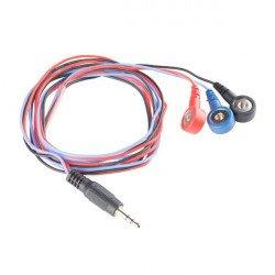 Kabely pro biomedicínské elektrody - SparkFun CAB-12970
